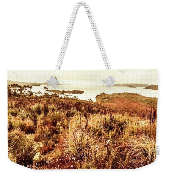 Beautiful Barren Outback Weekender Tote Bag