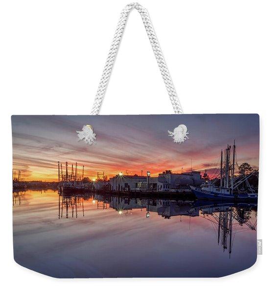 Beautiful Bayou Sunset Weekender Tote Bag