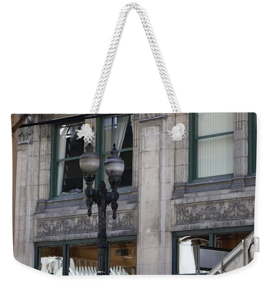 Beautiful Chicago Gothic Grunge Weekender Tote Bag