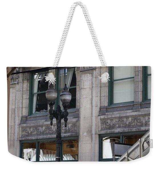 Beautiful Chicago Gothic Grunge Weekender Tote Bag