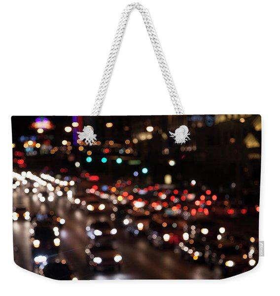 Beautiful Congestion Weekender Tote Bag