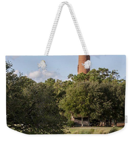 Beautiful Day At Currituck Beach Lighthouse Weekender Tote Bag