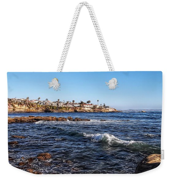 Beautiful Day In La Jolla Weekender Tote Bag