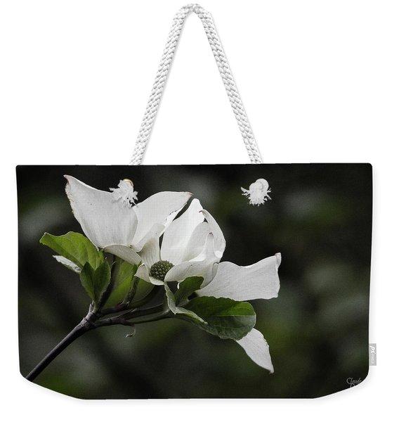 Beautiful Dogwood Weekender Tote Bag