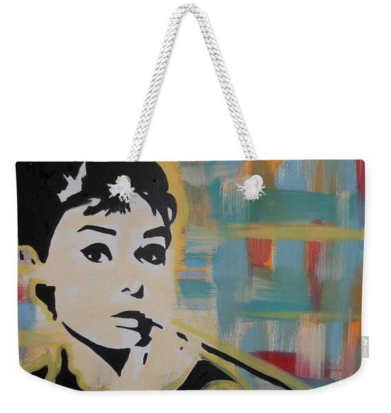 Beautiful Hepburn Weekender Tote Bag
