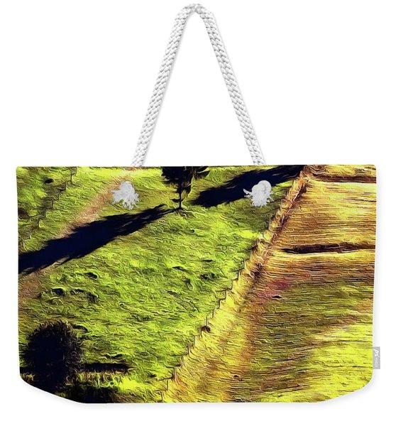Beautiful Hillside Painting Weekender Tote Bag