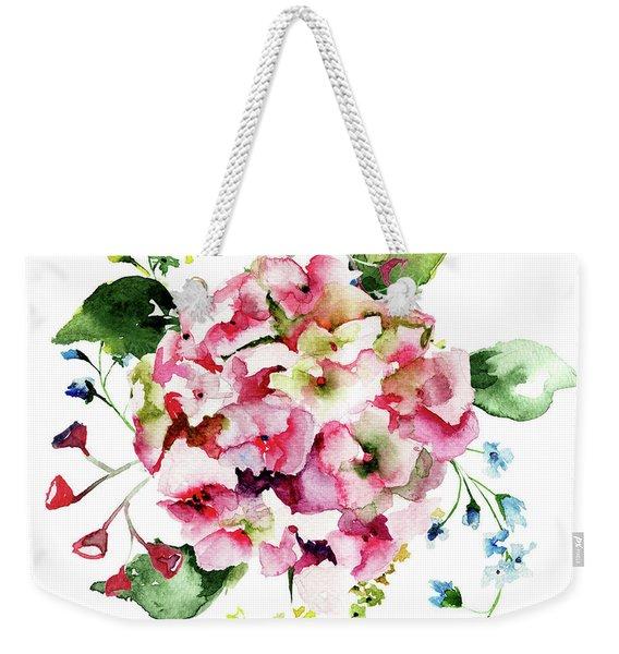 Beautiful Hydrangea Flowers Weekender Tote Bag
