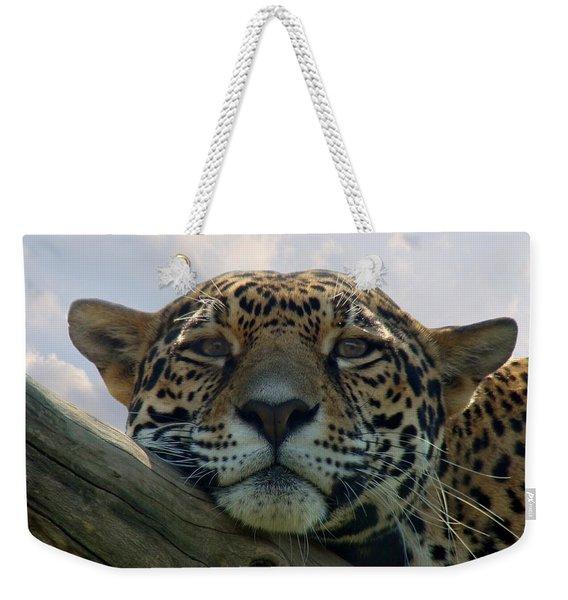 Beautiful Jaguar Weekender Tote Bag