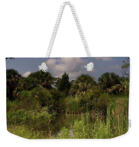 Beautiful Landscape Of Trees Weekender Tote Bag