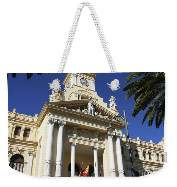 Beautiful Malaga City Hall Weekender Tote Bag