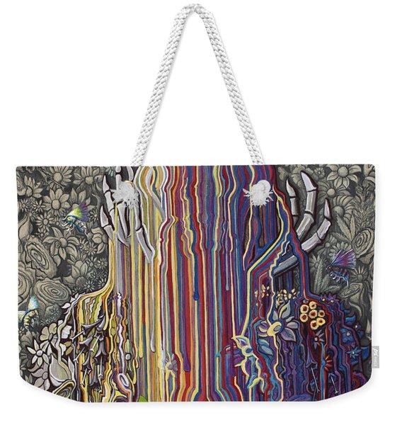 Beautiful Meltdown Weekender Tote Bag
