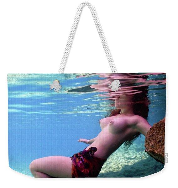 Beautiful Mermaid Weekender Tote Bag