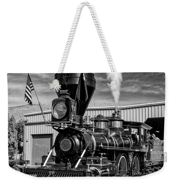 Beautiful Number 22 In Black And White Weekender Tote Bag