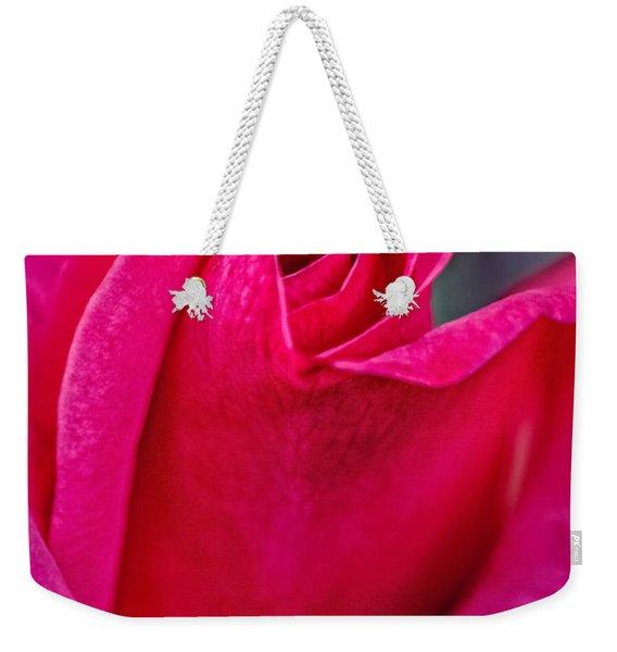 Beautiful Rose Bud Weekender Tote Bag