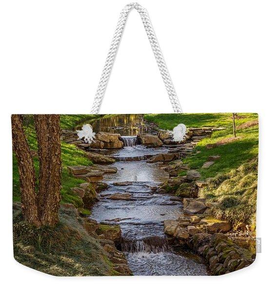 Beautiful Stream Weekender Tote Bag