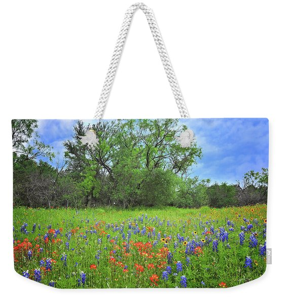 Beautiful Texas Spring Weekender Tote Bag