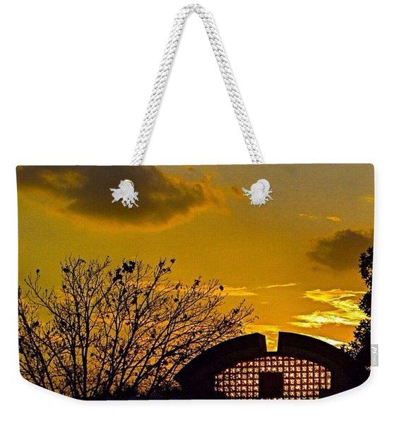 #beautiful #texas #sunset Last #night Weekender Tote Bag