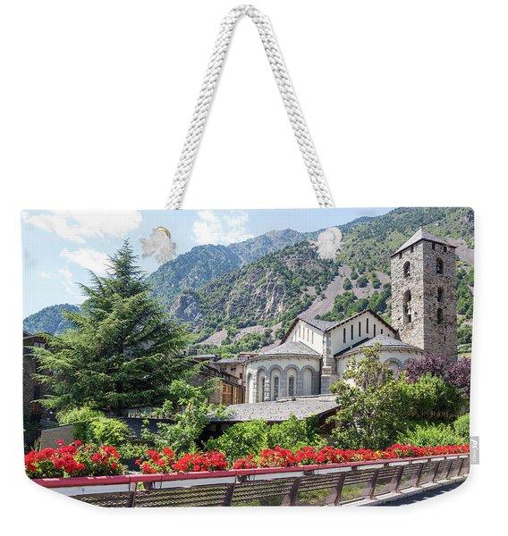 Beautiful View Of Andorra La Vella Weekender Tote Bag