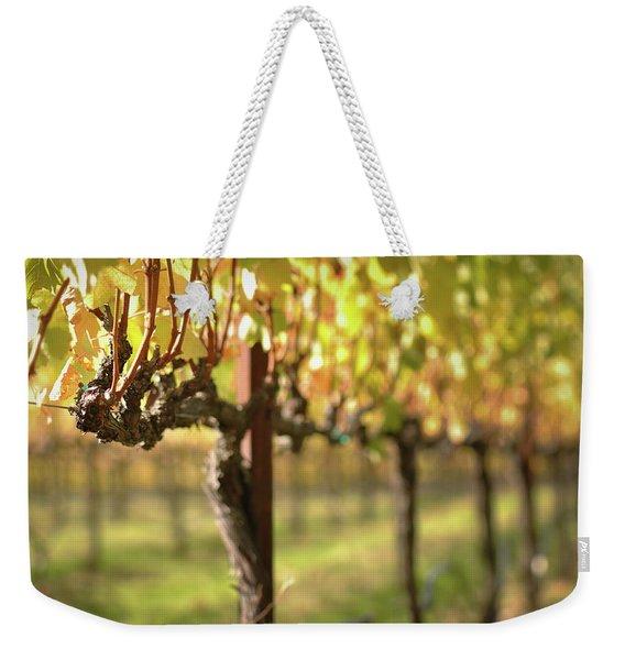 Beautiful Vineyard In Napa Valley Weekender Tote Bag