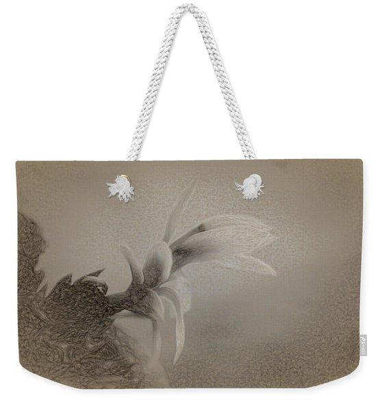Beautiful Wildflower Weekender Tote Bag