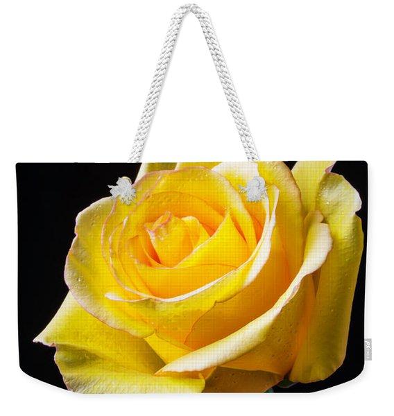 Beautiful Yellow Rose Weekender Tote Bag