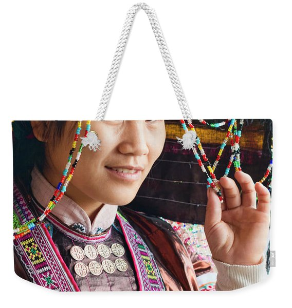 Beauty And The Beads Weekender Tote Bag