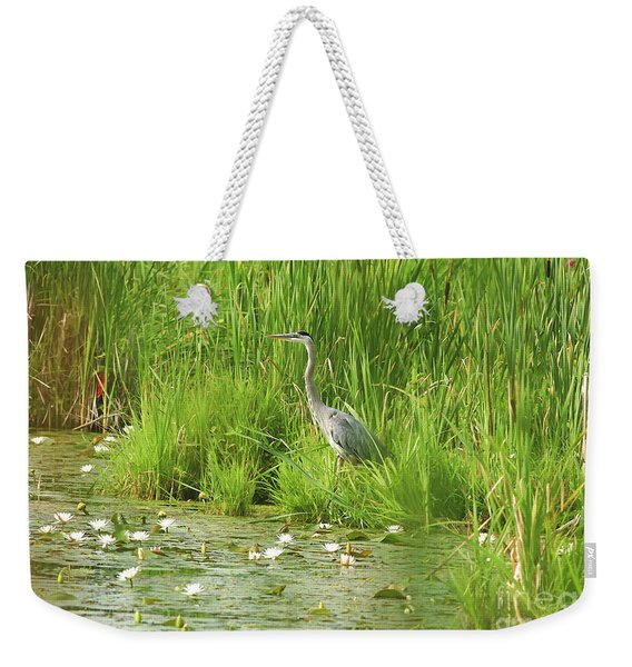 Beauty At Waters Edge Weekender Tote Bag