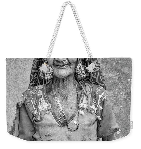 Beauty Before Age. Weekender Tote Bag
