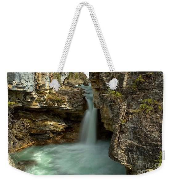 Beauty Creek Canyon Falls Weekender Tote Bag