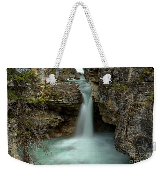 Beauty Creek Hidden Waterfall Canyon Weekender Tote Bag
