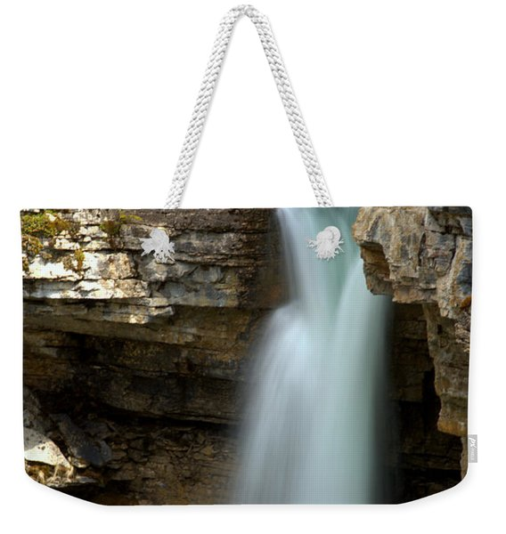 Beauty Creek Stanley Falls Weekender Tote Bag