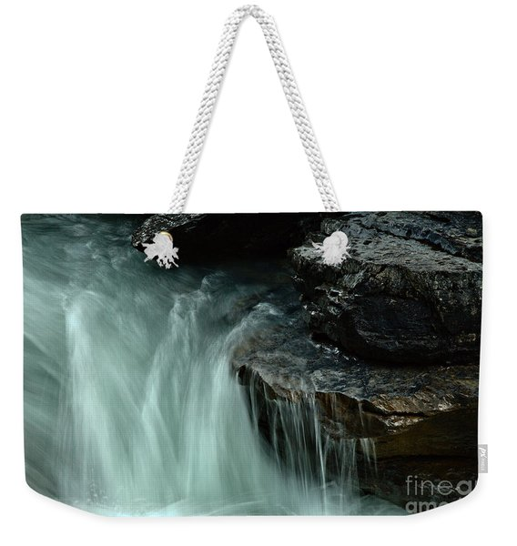 Beauty Creek Streaming Over The Edge Weekender Tote Bag