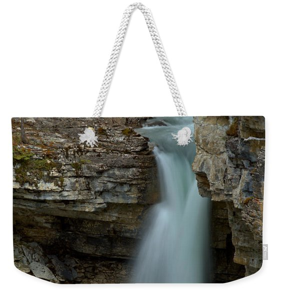 Beauty Creek Streams Od Blue Weekender Tote Bag