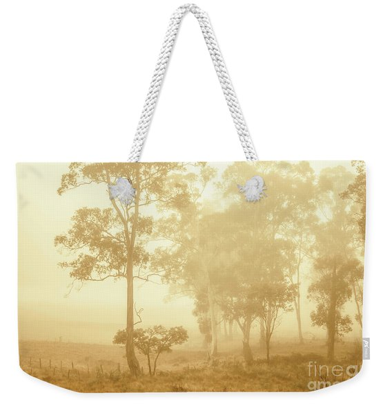 Beauty In A Forest Fog Weekender Tote Bag