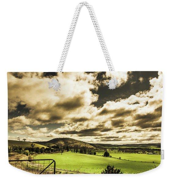 Beauty In Plain Contrast Weekender Tote Bag