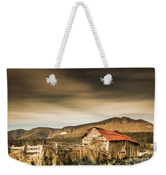 Beauty In Rural Dilapidation Weekender Tote Bag