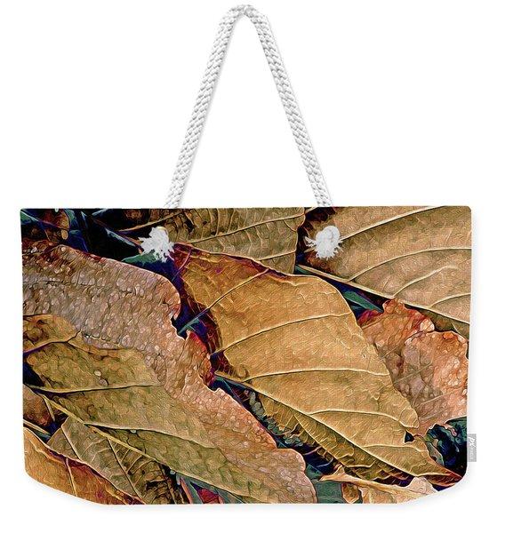 Beauty In Sepia Weekender Tote Bag