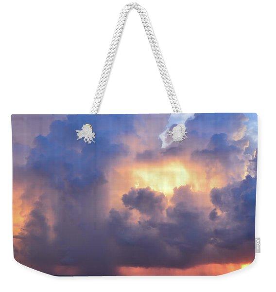 Beauty In The Darkest Skies II Weekender Tote Bag