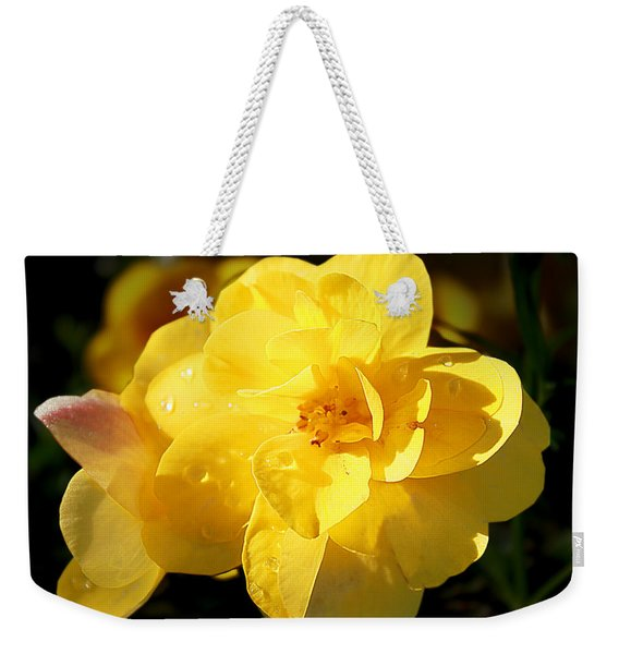 Beauty In Yellow Weekender Tote Bag
