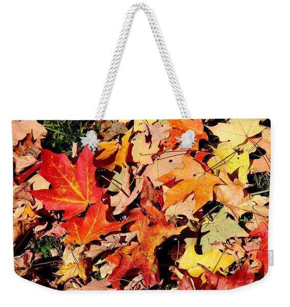 Beauty Of Fallen Leaves Weekender Tote Bag