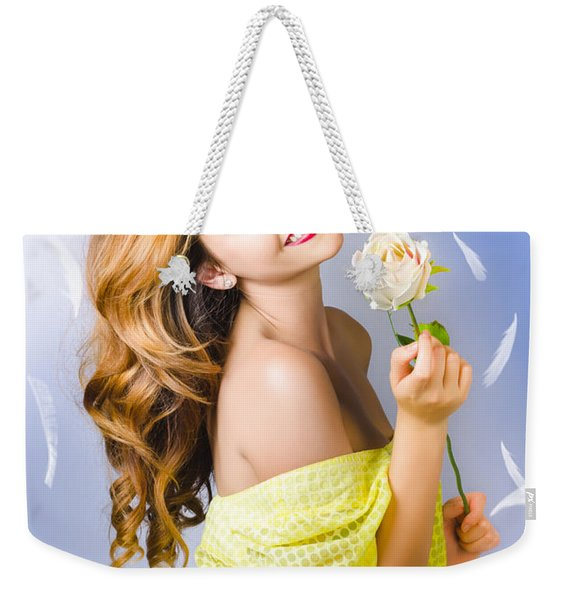 Beauty Of Romance Floating In The Summer Breeze Weekender Tote Bag
