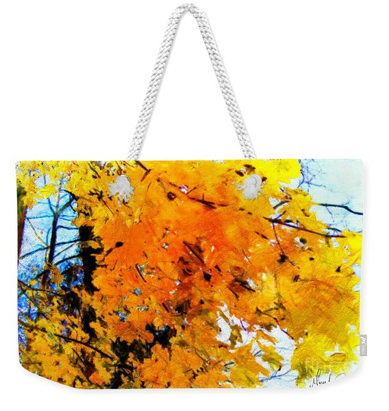 Beauty Of The Leaves Weekender Tote Bag