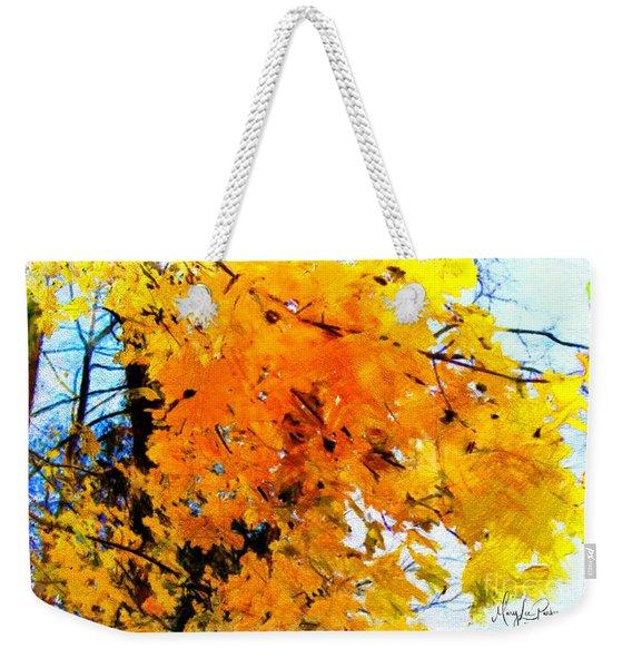 Beauty Of The Leaves Weekender Tote Bag