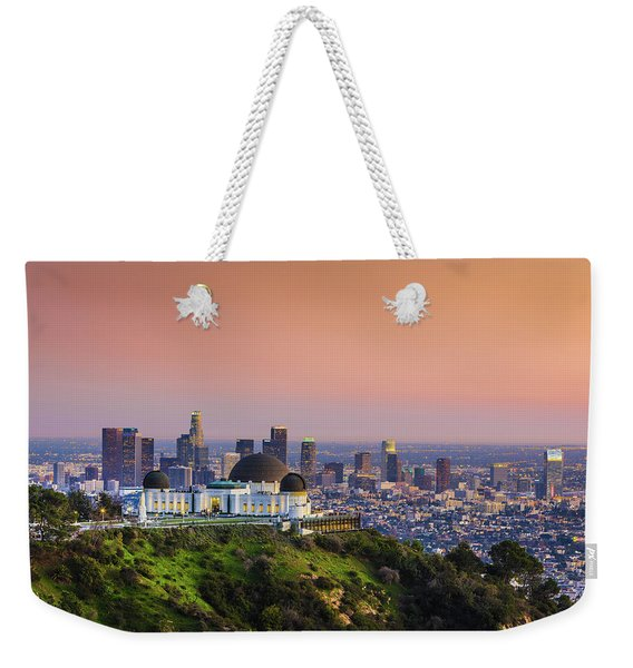 Beauty On The Hill Weekender Tote Bag