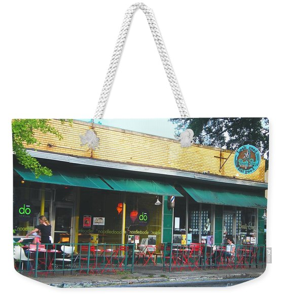 Beauty Shop And Do  Cooper Young Memphis Weekender Tote Bag