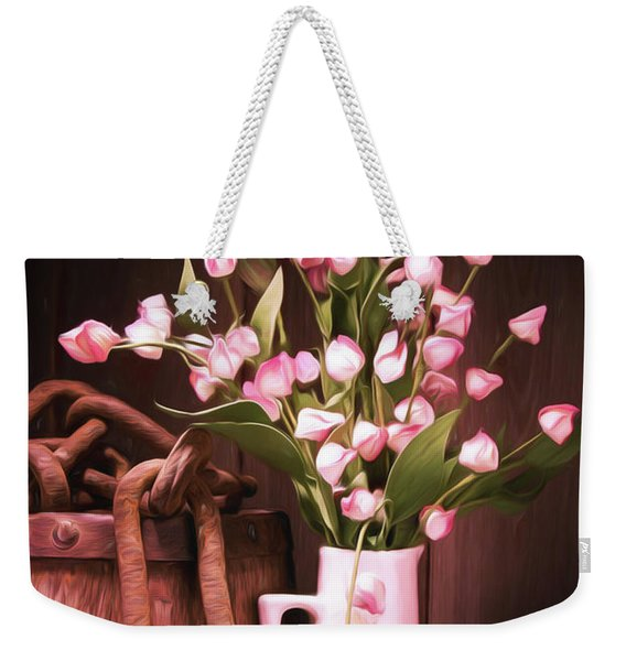 Beauty Unchained Weekender Tote Bag