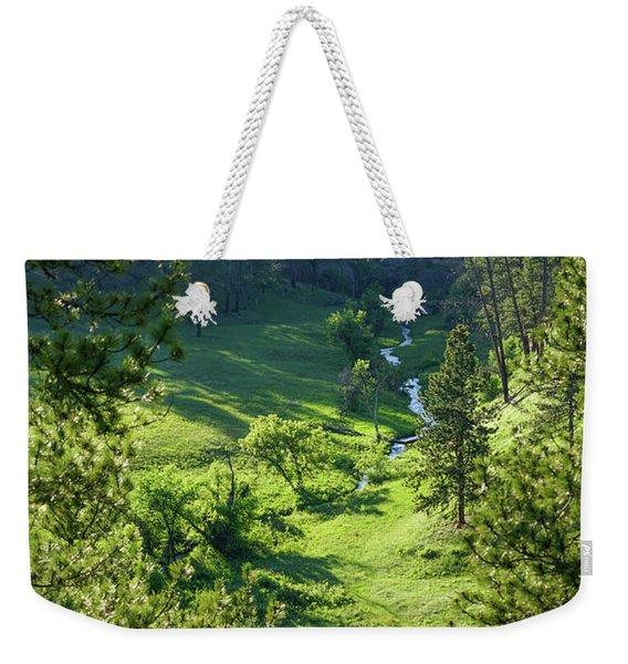 Beaver Creek In The Spring Weekender Tote Bag