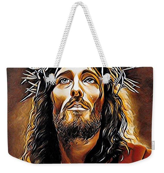 Because He Loves You Weekender Tote Bag