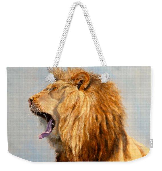 Bed Head - Lion Weekender Tote Bag