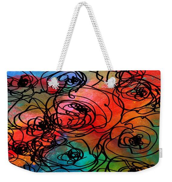 Bed Of Roses Weekender Tote Bag